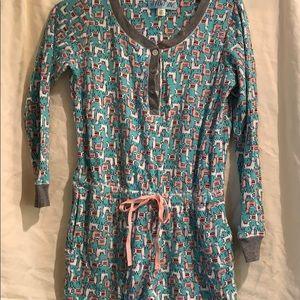 Francesca's- thermal pajamas - like new